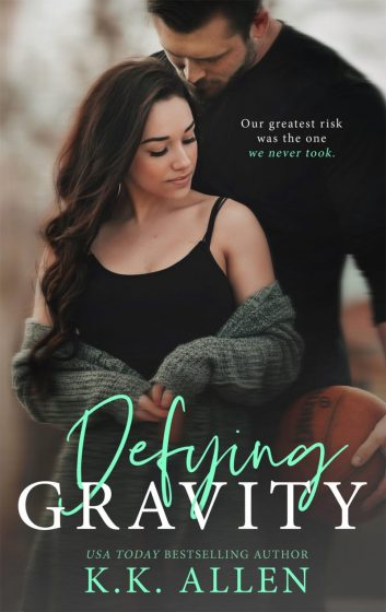 Cover Reveal & Giveaway: Defying Gravity (Gravity #2) by KK Allen