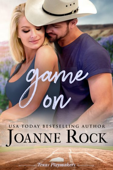 Cover Reveal & Giveway: Game On (Texas Playmakers #2) by Joanne Rock
