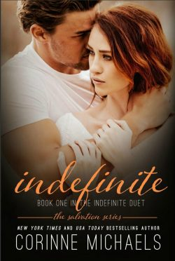 Cover Reveal: Indefinite (Salvation #6) by Corinne Michaels
