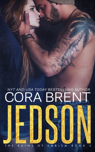 Cover Reveal: Jedson (The Ruins of Emblem #2) by Cora Brent