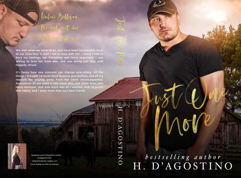 Cover Reveal: Just One More by Heather D'Agostino – Books to