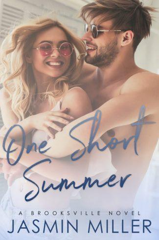 Cover Reveal: One Short Summer (Brooksville #2) by Jasmin Miller