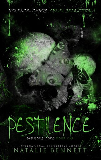 Cover Reveal & Giveaway: Pestilence (Perilous Gods #1) by Natalie Bennett