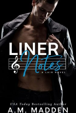 Cover Reveal: Liner Notes (Lair #2) by AM Madden
