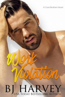Cover Reveal & Giveaway: Work Violation (Cook County #2) by BJ Harvey