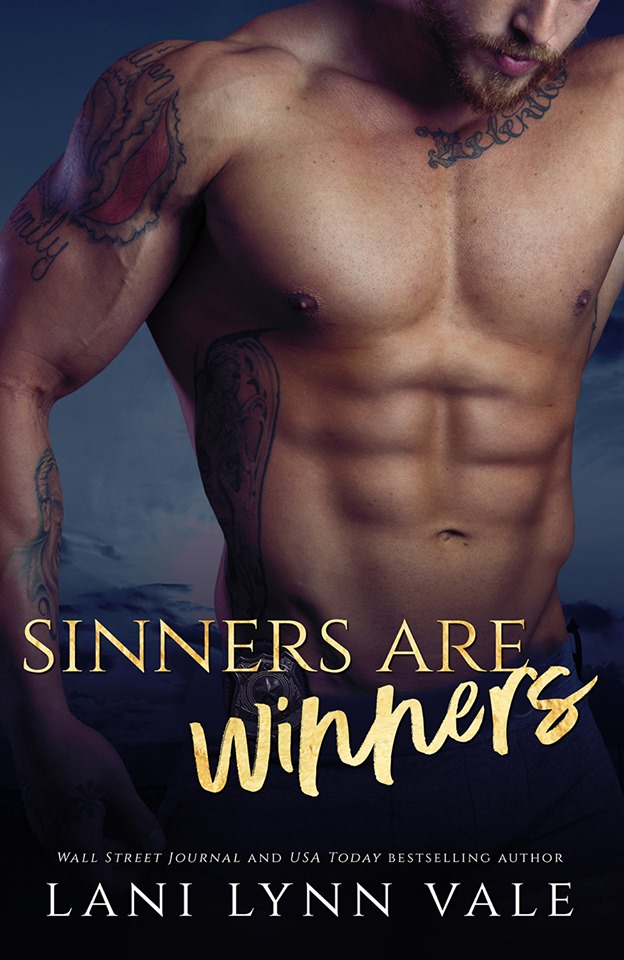 Cover Reveal: Sinners are Winners (KPD Motorcycle Patrol #5) by Lani Lynn Vale