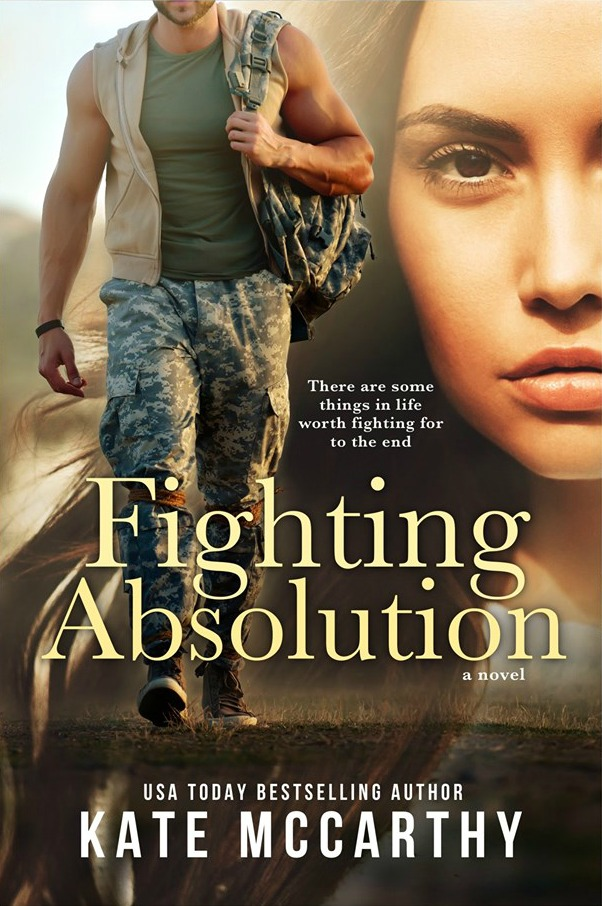 Cover Reveal: Fighting Absolution by Kate McCarthy