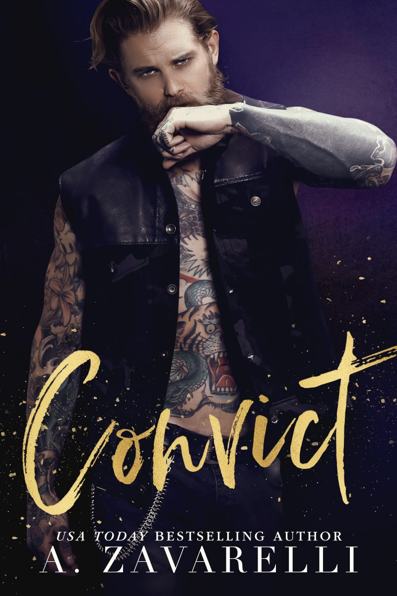Cover Reveal: Convict (Sin City Salvation #2) by A Zavarelli