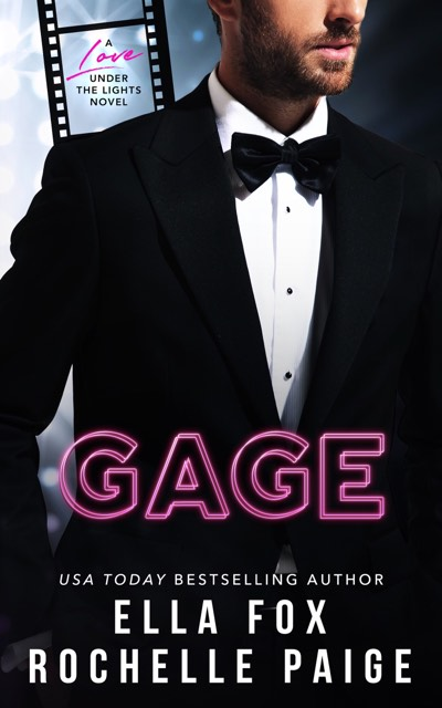 Cover Reveal: Gage (Love Under The Lights #1) by Rochelle Paige & Ella Fox