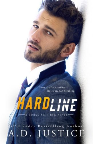 Cover Reveal: Hard Line (Crossing Lines #3) by AD Justice
