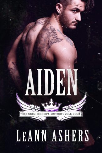 Release Day Blitz: Aiden (Grim Sinners MC #4) by LeAnn Ashers