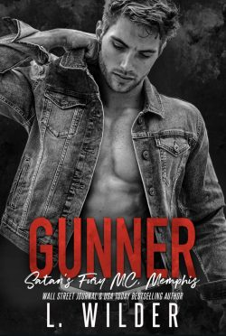 Cover Reveal: Gunner (Satan's Fury MC: Memphis #5) by L Wilder
