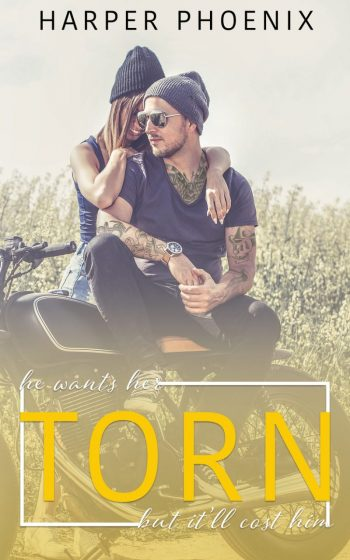 Cover Reveal: Torn by Harper Phoenix