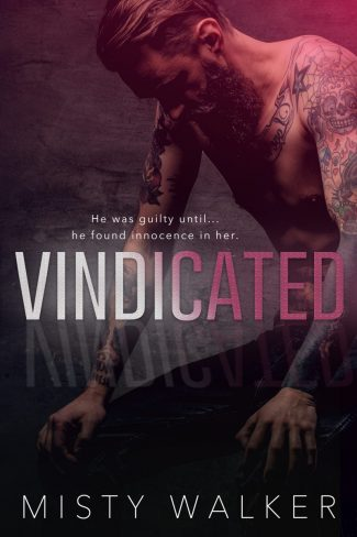 Cover Reveal & Giveaway: Vindicated by Misty Walker