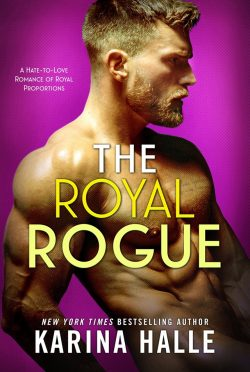 Cover Reveal: The Royal Rogue (Nordic Royals #4) by Karina Halle