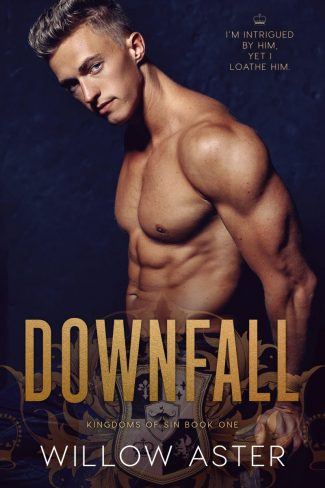Cover Reveal: Downfall (Kingdoms of Sin #1) by Willow Aster