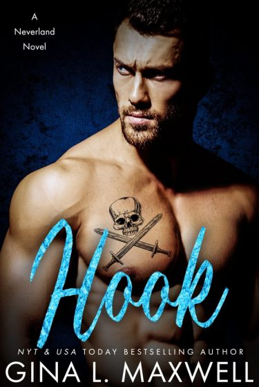 Cover Reveal: Hook (Neverland #2) by Gina L Maxwell