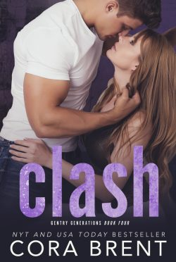 Cover Reveal: Clash (Gentry Generations #4) by Cora Brent