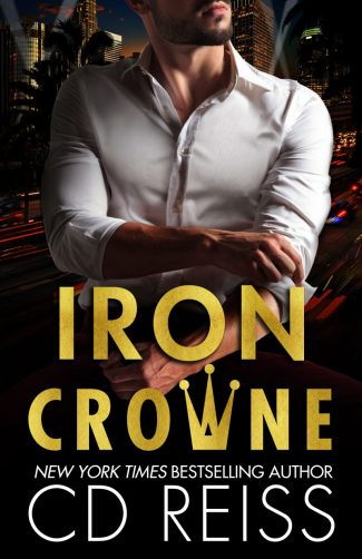 Cover Reveal: Iron Crowne by CD Reiss