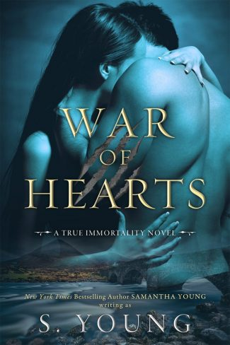 Release Day Blitz: War of Hearts (True Immortality #1) by S Young
