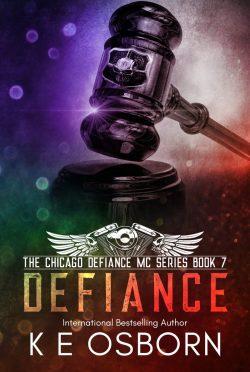Release Day Blitz & Giveaway: Defiance (Chicago Defiance MC #7) by KE Osborn