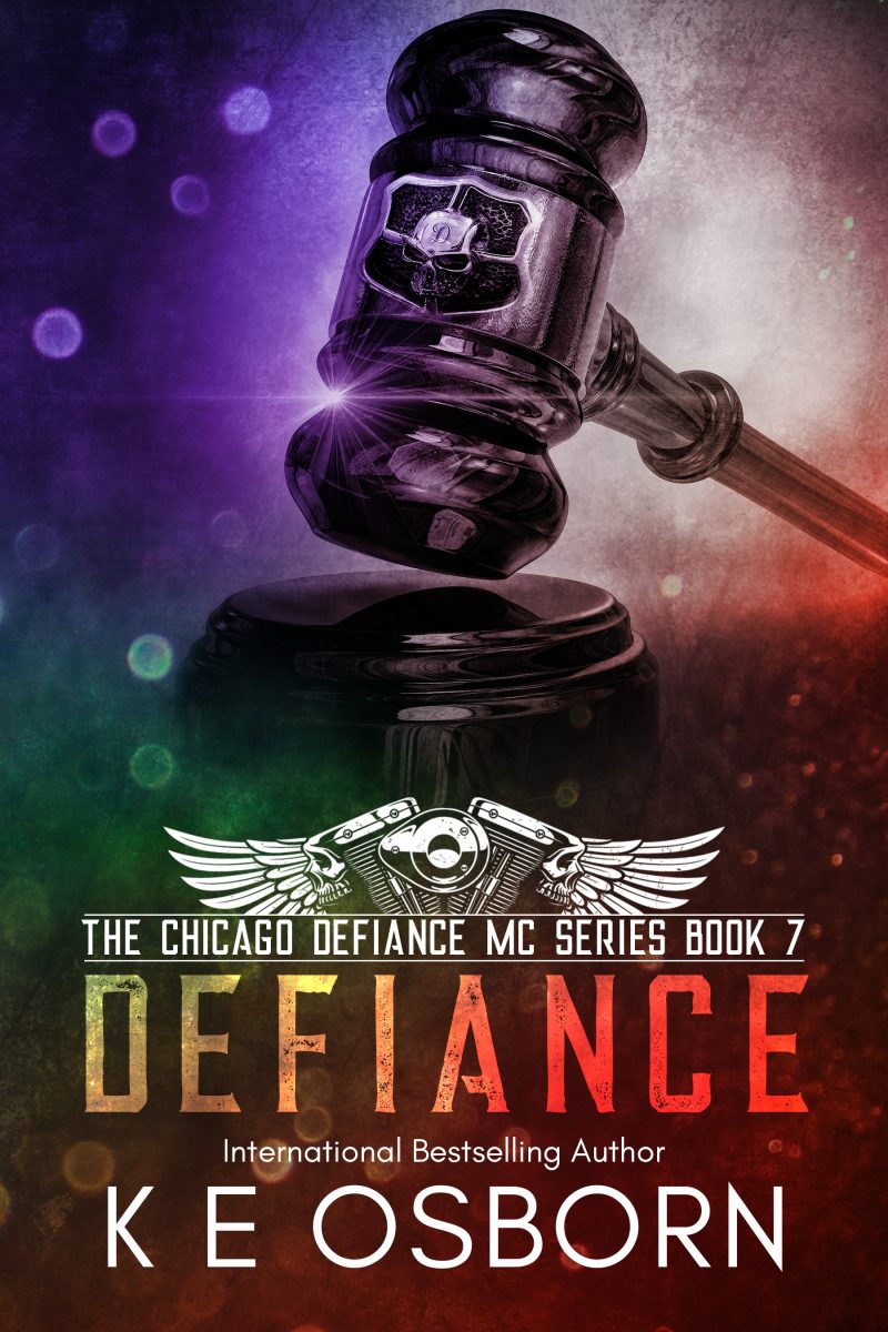 Release Day Blitz & Giveaway: Defiance (Chicago Defiance MC #7) by KE Osborn