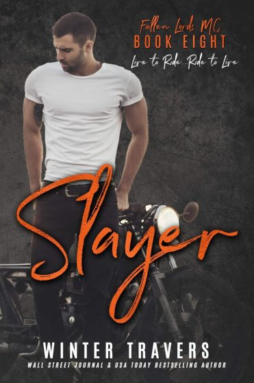 Release Day Blitz & Giveaway: Slayer (Fallen Lords MC #8) by Winter Travers