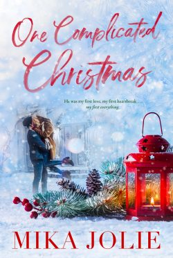 Cover Reveal: One Complicated Christmas by Mika Jolie