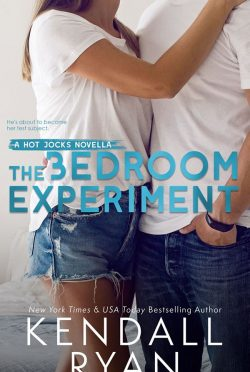 Cover Reveal: The Bedroom Experiment (Hot Jocks #4.5) by Kendall Ryan