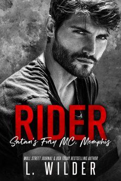 Cover Reveal: Rider (Satan's Fury MC: Memphis #7) by L Wilder