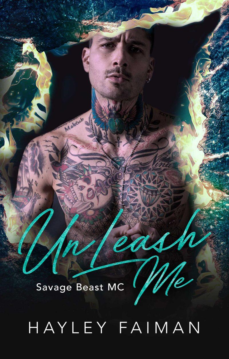 Cove Reveal: UnLeash Me (Savage Beast MC #4) by Hayley Faiman