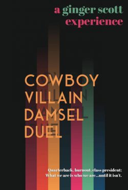 Cover Reveal: Cowboy Villain Damsel Duel by Ginger Scott