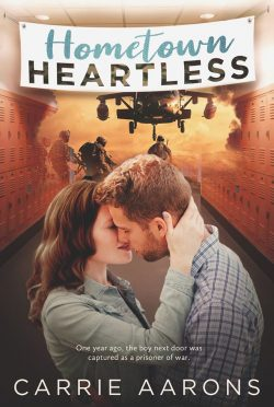 Cover Reveal: Hometown Heartless by Carrie Aarons
