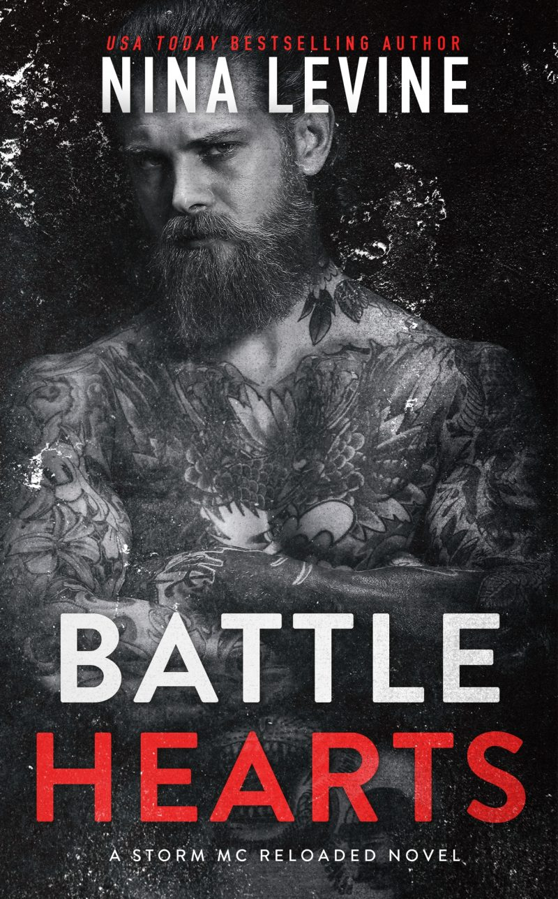 Cover Reveal: Battle Hearts (Storm MC Reloaded #3) by Nina Levine