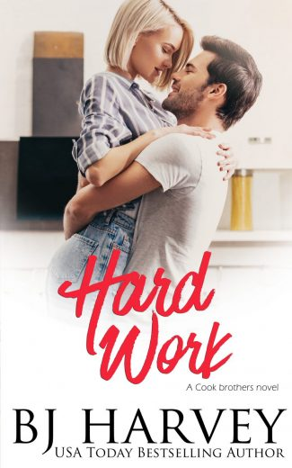 Cover Reveal & Giveaway: Hard Work (Cook Brothers #4) by BJ Harvey