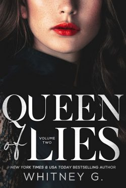 Cover Reveal: Queen of Lies (Empire of Lies #2) by Whitney G