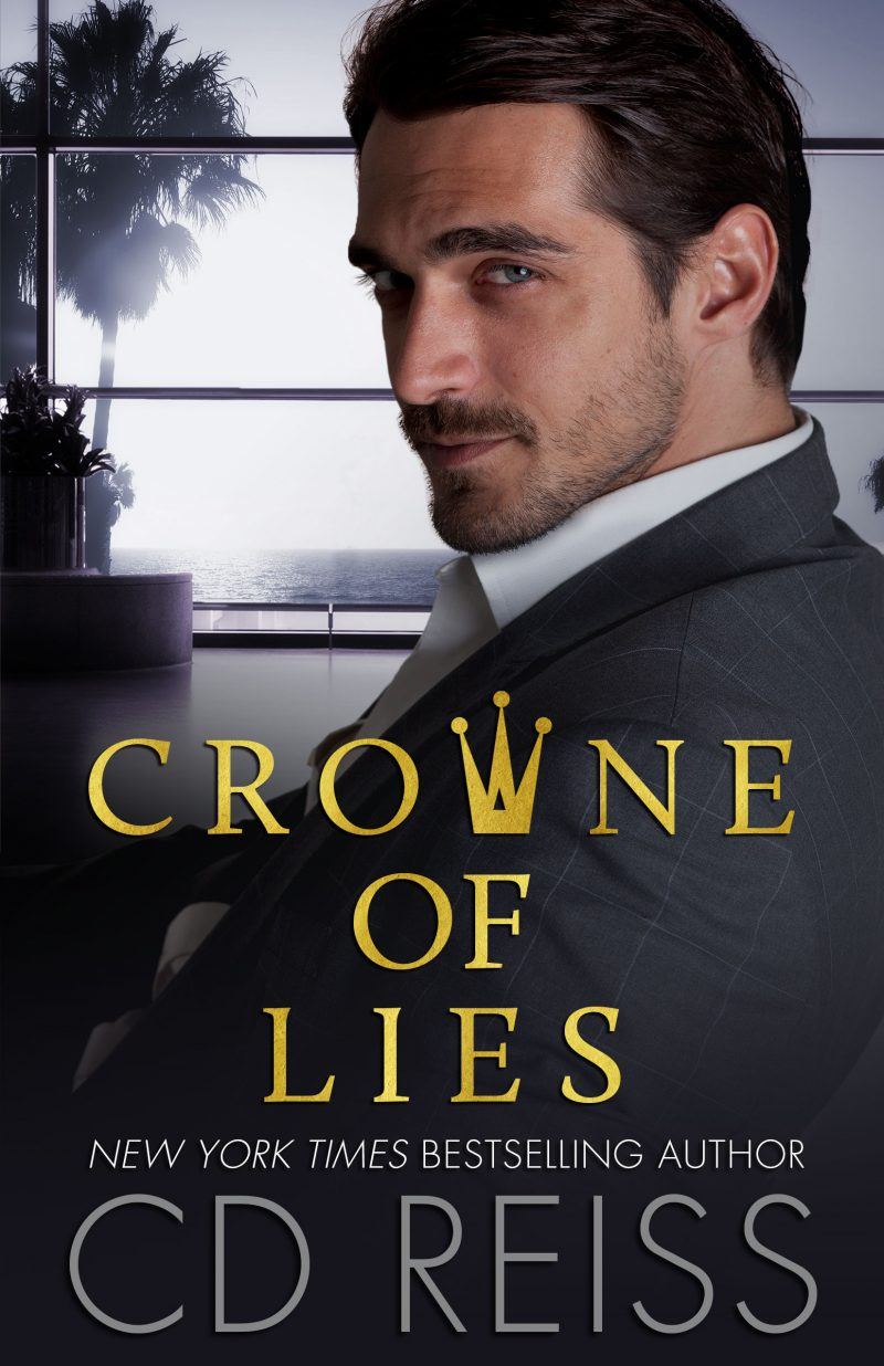 Cover Reveal: Crowne of Lies by CD Reiss