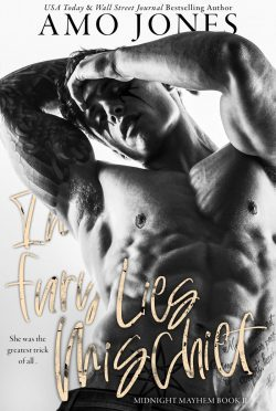 Cover Reveal: In Fury Lies Mischief (Midnight Mayhem #2) by Amo Jones