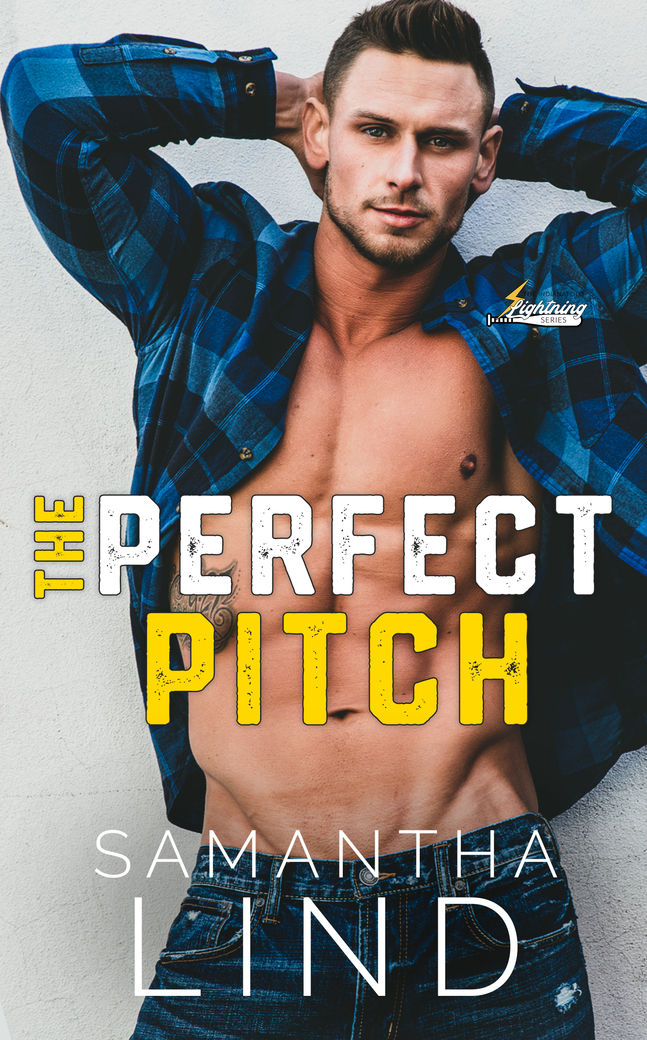 Cover Reveal & Giveaway: The Perfect Pitch (Indianapolis Lightning #1) by Samantha Lind