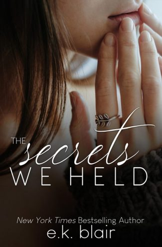 Cover Reveal: The Secrets We Held (Secrets & Truths Duet #1) by EK Blair