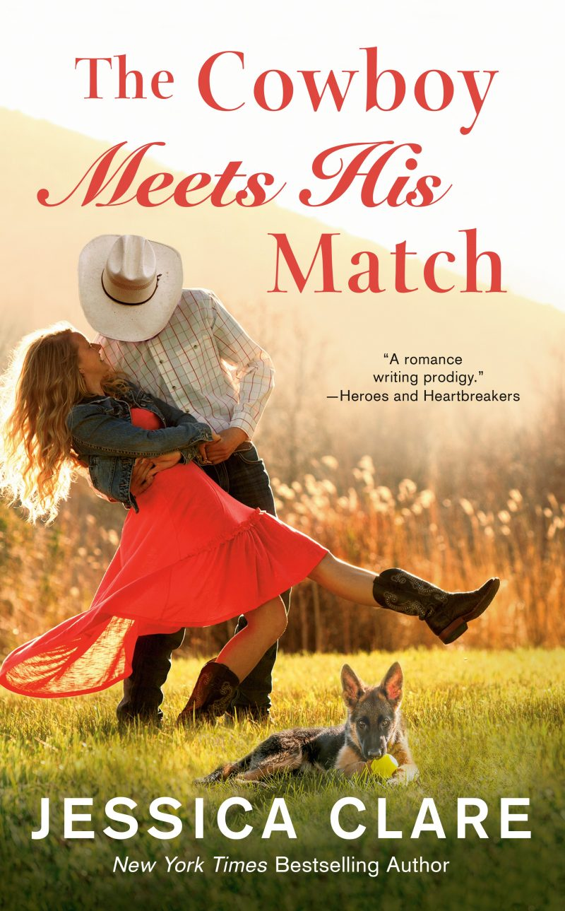 Cover Reveal: The Cowboy Meets His Match (The Wyoming Cowboy #4) by Jessica Clare