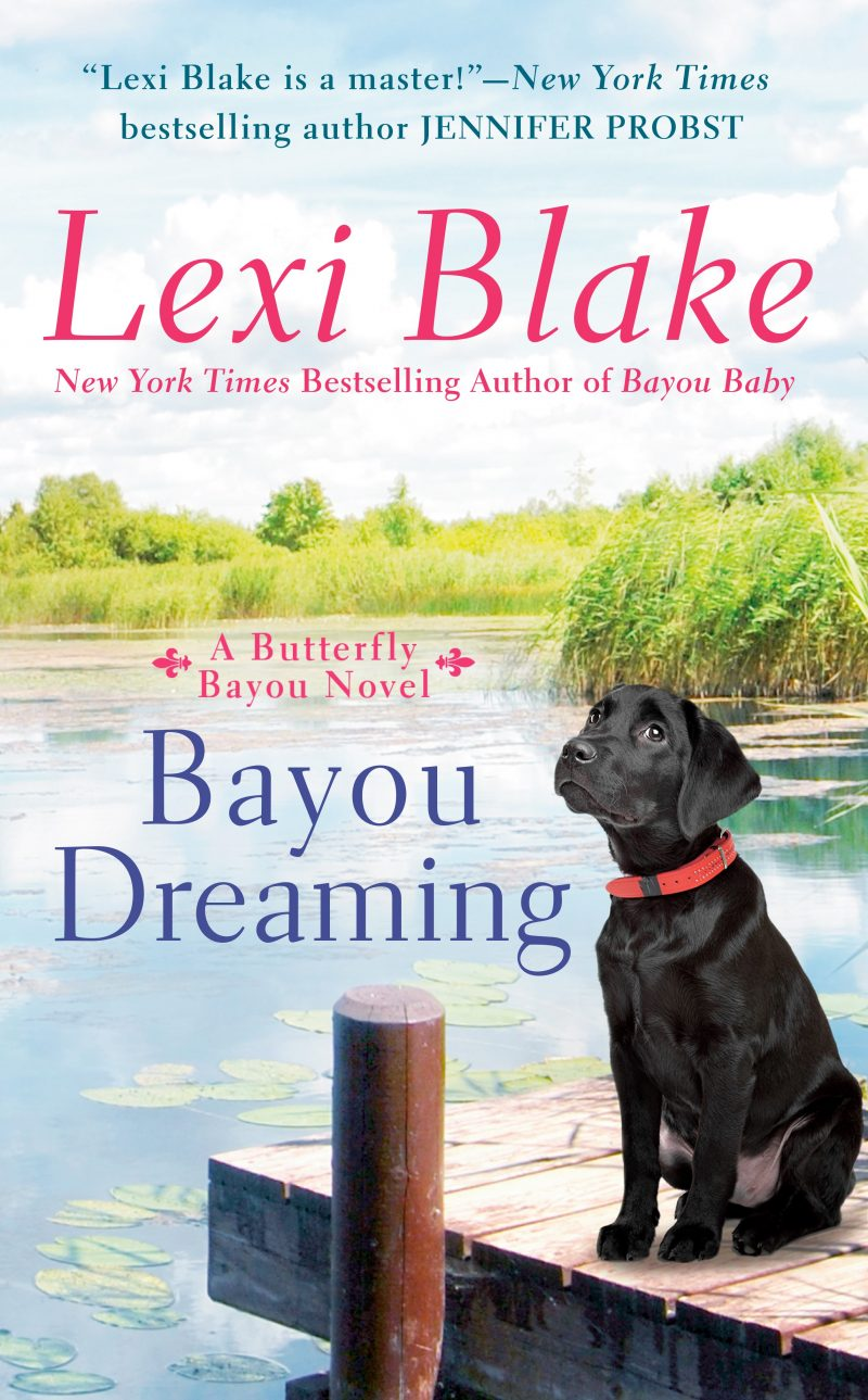 Cover Reveal: Bayou Dreaming (Butterfly Bayou #3) by Lexi Blake