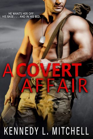 Cover Reveal: A Covert Affair by Kennedy L Mitchell