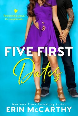 Cover Reveal: Five First Dates by Erin McCarthy
