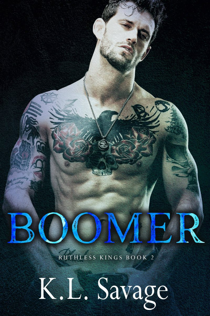 Cover Reveal: Boomer (Ruthless Kings MC #2) by KL Savage