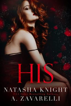 Cover Reveal: His (Ties That Bind #2) by Natasha Knight & A Zavarelli