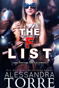 Cover Reveal: The F List by Alessandra Torre
