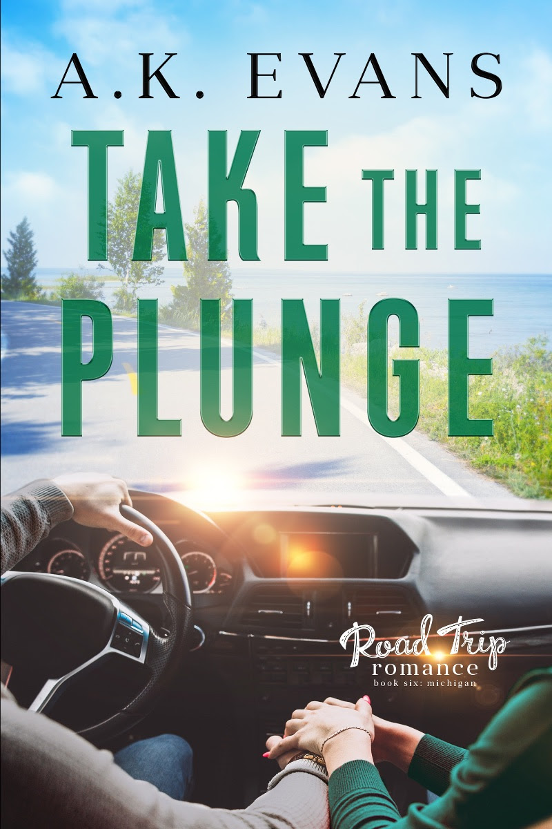 Cover Reveal: Take the Plunge (Road Trip Romance #6) by AK Evans