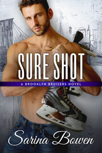 Cover Reveal: Sure Shot (Brooklyn Bruisers #7) by Sarina Bowen