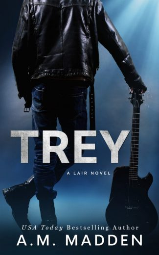 Cover Reveal: Trey (Lair #2) by AM Madden